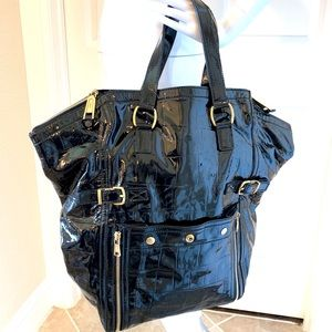 cda4a6fc3e Women Patent Leather Downtown Ysl Bag on Poshmark